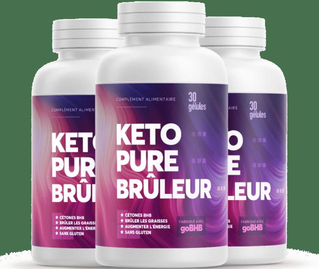 Bouteilles de Keto Pure Brûleur